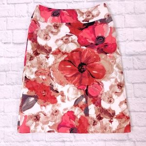 East 5th Floral Pencil Skirt